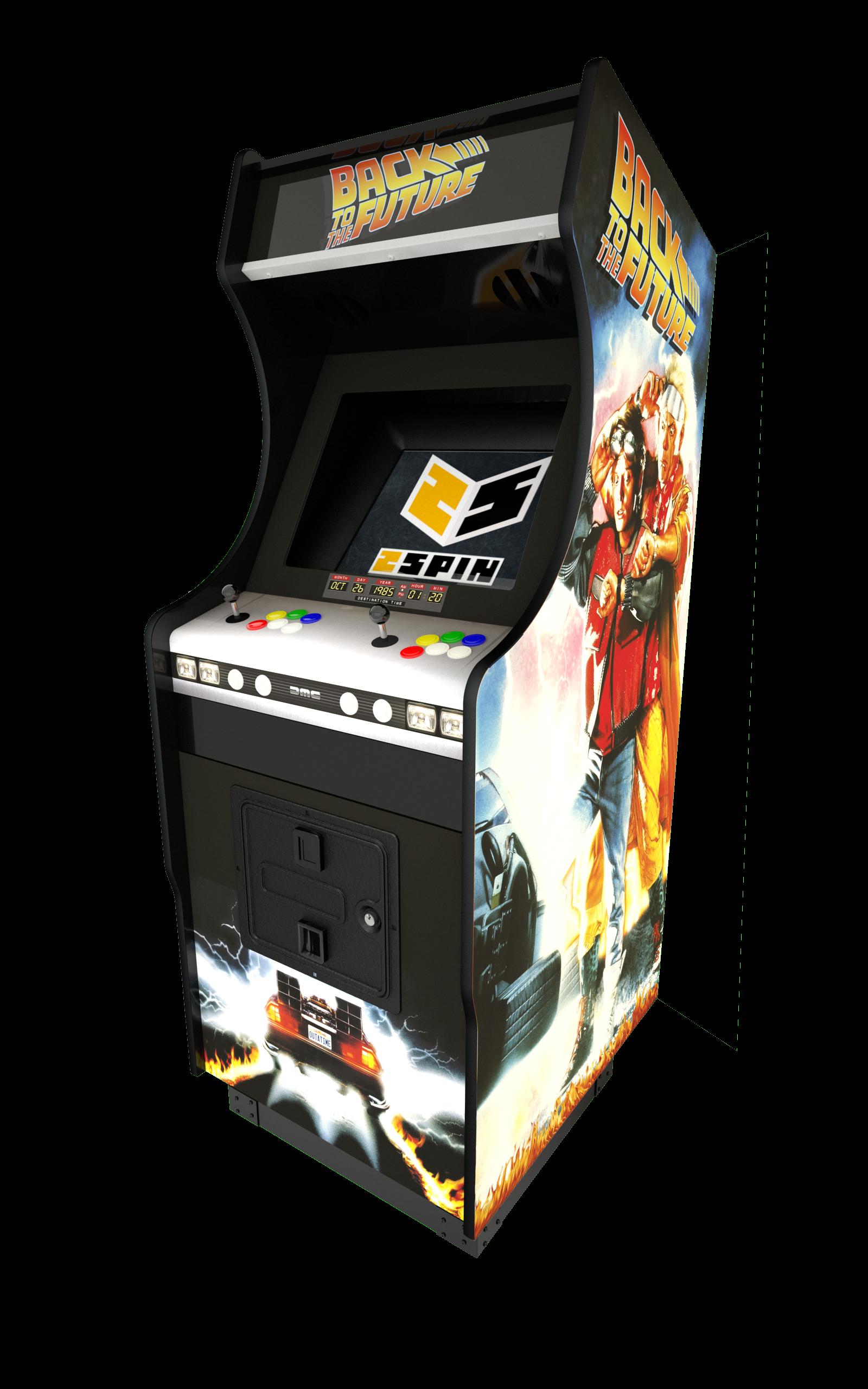 sticker borne arcade