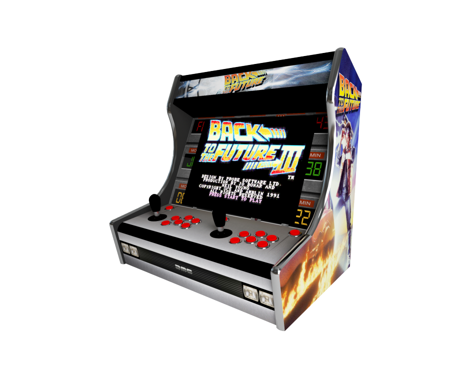 Deco bartop Frankeezz Back to the future by MadXvelvet