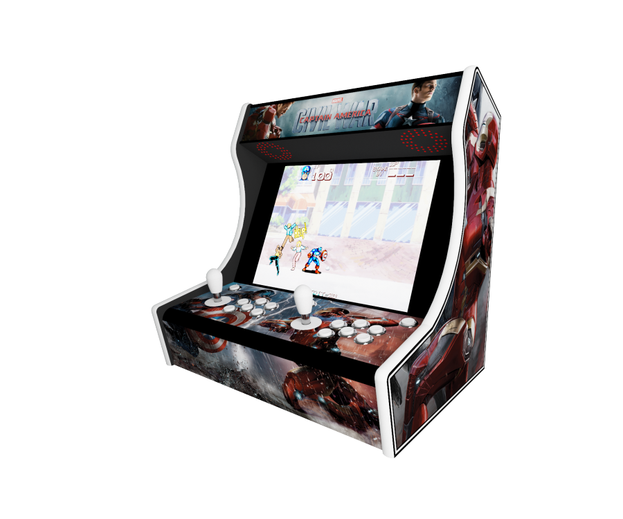 Deco bartop frankeezz Marvel Captain America Civil War by nesos