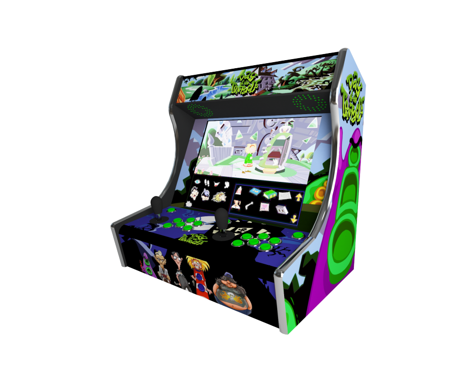 deco bartop Frankeezz day of the tentacle by MadXvelvet
